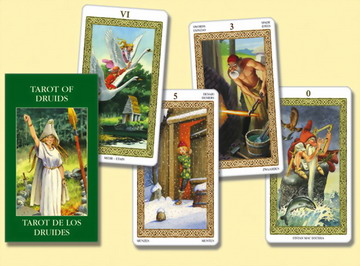 Cartas Tarot Druidas Mini