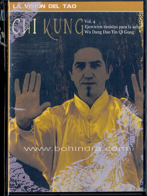 dvd ejercicios taoístas para la salud wu dang dao yin qi