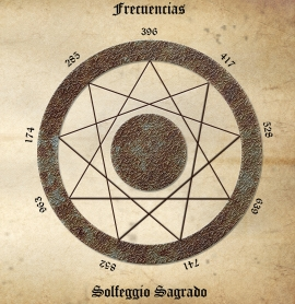 Cd- Frecuencias : Antiguo Solfeggio Sagrado