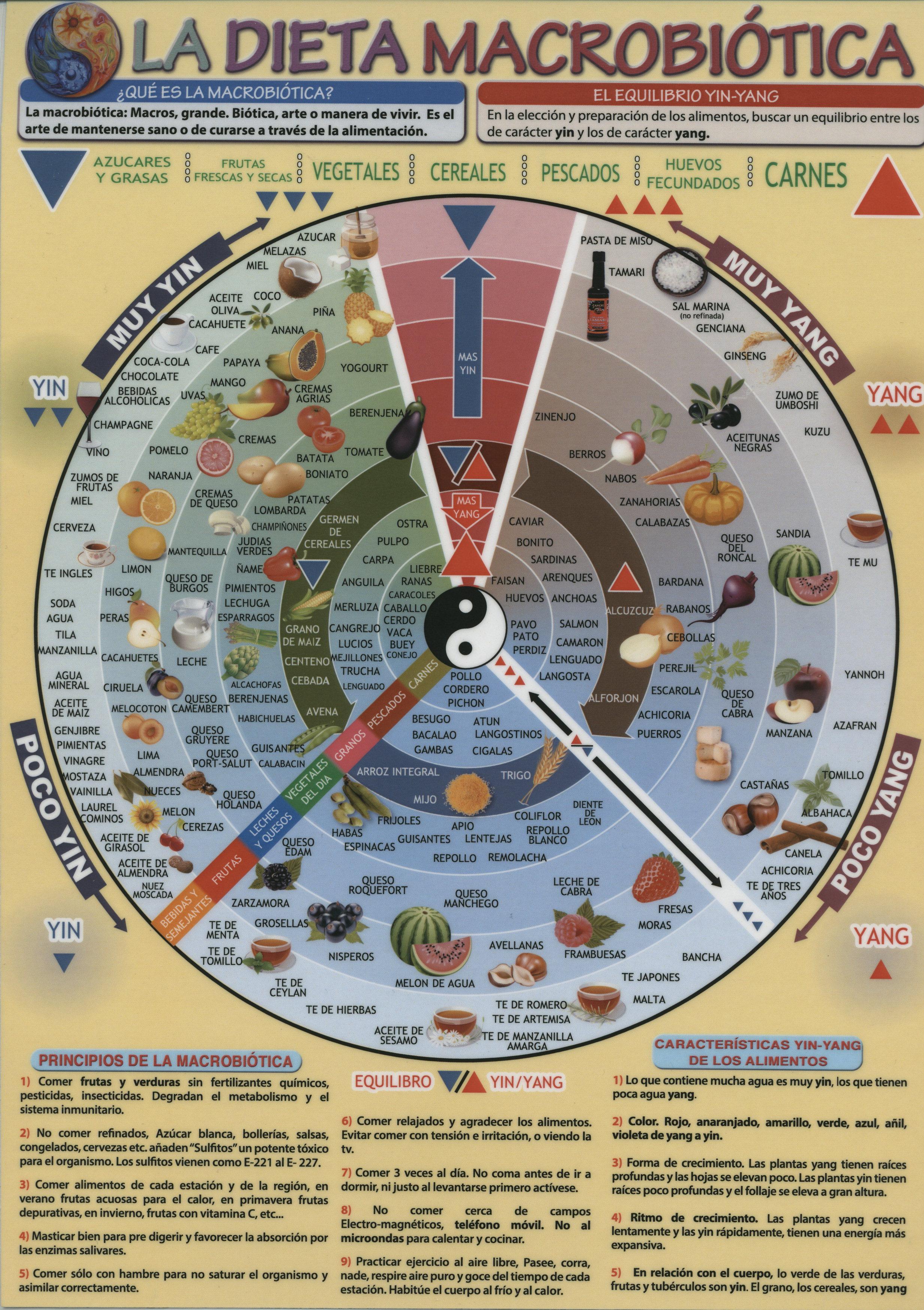 dieta macrobiotica yin y yang