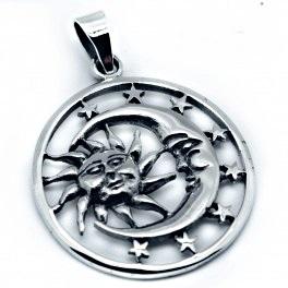 mejores telas precio razonable tecnologías sofisticadas Colgante sol luna estrellas 87117 · 63435 - None - Bohindra ...