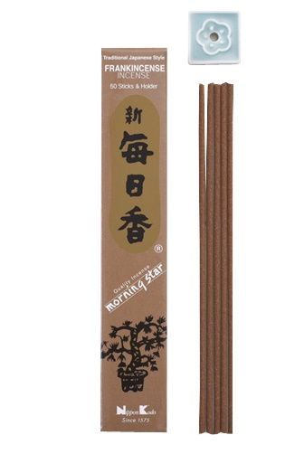 Incienso japonés Morning Star  Frankincense 50V