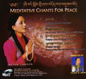 Cd- Meditative Chants for Peace
