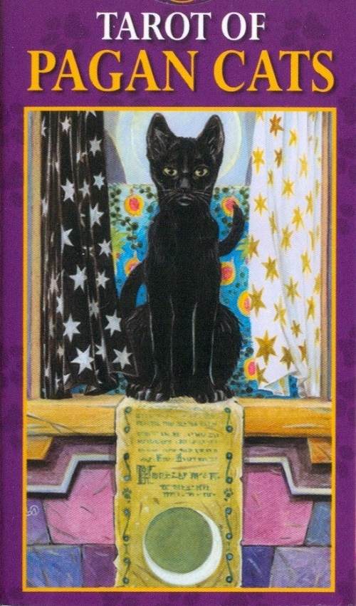 Cartas Tarot Mini Pagan Cats (gatos paganos)