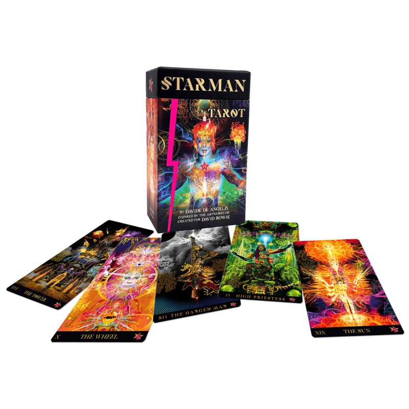 Cartas Starman Tarot  (David Bowie)