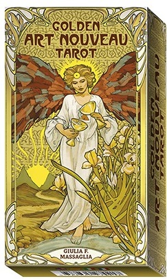 Cartas Tarot Golden Art Nouveau
