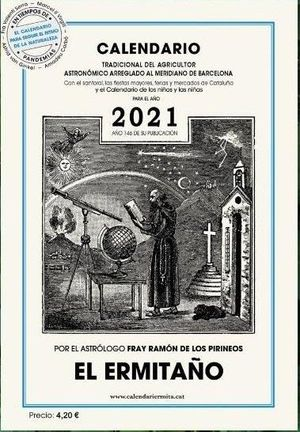 Calendario ermitaño 2021