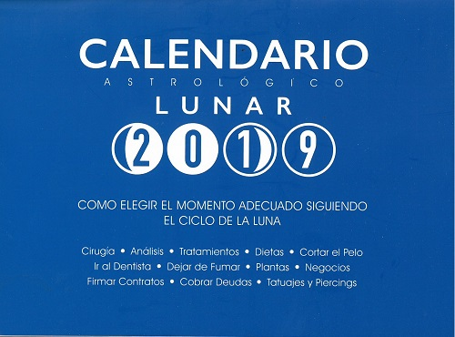 Calendario Astrológico Lunar 2019